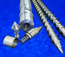 Feedscrew screw tips, end caps, nozzles, nozzle adapters, mixing valves and more.